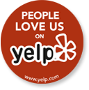 People Love Us On Yelp Award