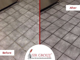 See How a Grout Recoloring in Houston TX Revived the Deep Colors ...