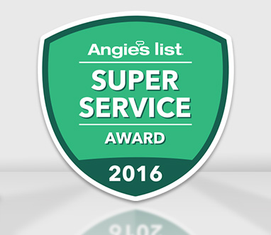 Picture of Angie's List Super Service Award. Won by Sir Grout Houston