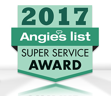 Angie's List Super Service Award 2017 for Sir Grout Houston