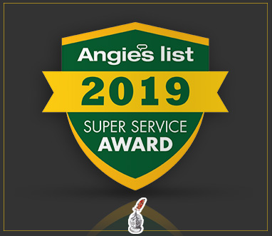 Angie's List Super Service Award 2019 for Sir Grout Houston