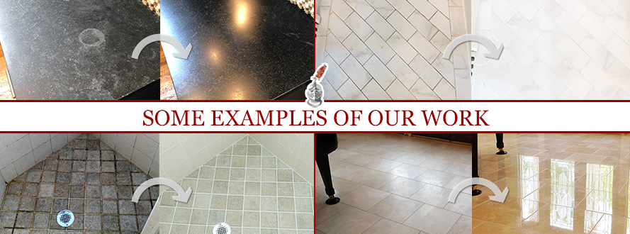 Before and After Pictures of Some Examples of Sir Grout Houston's Work