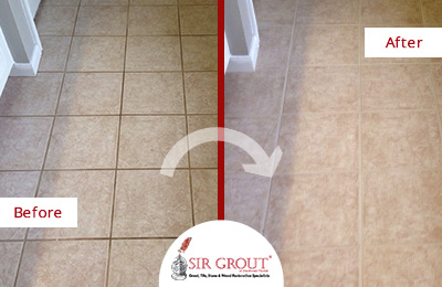 Beautiful Grout Sealing Job Revitalizes Customer's Bathroom in Sugar Land
